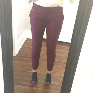 Express Pants - Express editor pant in maroon